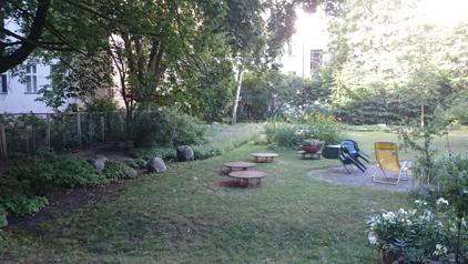 Yoga am Park Garten